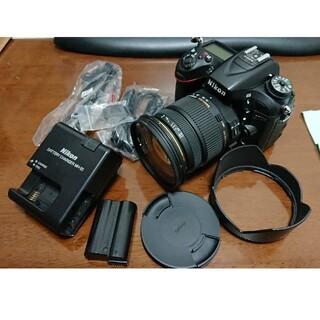 Nikon - D7100+SIGMA 17-50mm F2.8 EX DC OS