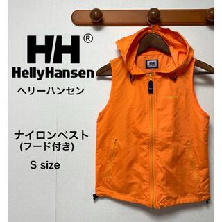 ヘリーハンセン(HELLY HANSEN)のHELLY HANSEN ヘリーハンセン ナイロンベスト  ベストパーカー S(ベスト)