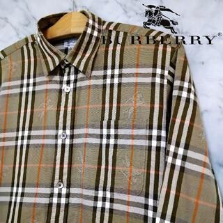 BURBERRY - 【レア物・美品】BURBERRY ノバチェック シャツ シャドーホース 総柄