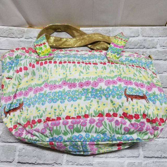 TSUMORI CHISATO(ツモリチサト)のツモリチサト お花畑 ネコ ショルダーバッグ レディースのバッグ(ショルダーバッグ)の商品写真