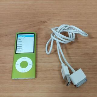アイポッド(iPod)の★iPod nano第4世代★8GB★ライトグリーン★(ポータブルプレーヤー)