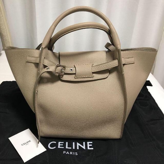 celine(セリーヌ)のセリーヌ CELINE ビッグバッグ スモール ライトトープ レディースのバッグ(ハンドバッグ)の商品写真