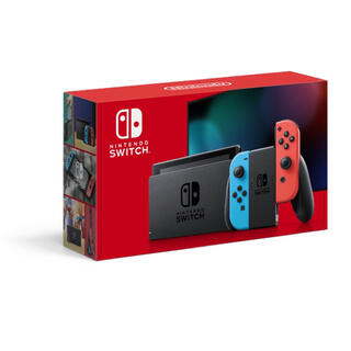 Nintendo Switch - 新型ニンテンドースイッチ 本体 ネオンブルー/ネオンレッド