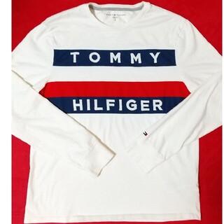 TOMMY HILFIGER - tommyhilfiger トミーヒルフィガー 刺繍 ロンT 即購入可