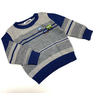 familiar - 【ファミリア】車 ニット セーター 90 長袖