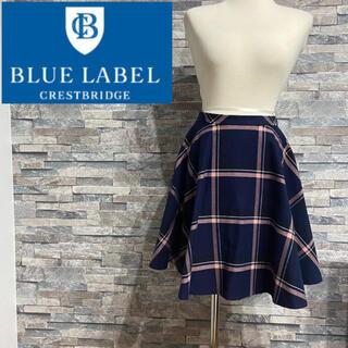BURBERRY BLUE LABEL - ブルーレーベル クレストブリッジ❤️スカート❤️