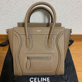 celine - 【美品】CELINE セリーヌ ラゲージ ナノ