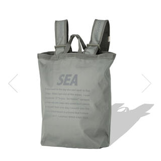SEA - WIND AND SEA Tote Back Pack