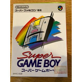 新品未開封 スーパーゲームボーイ SHVC-SGB Super GAMEBOY★