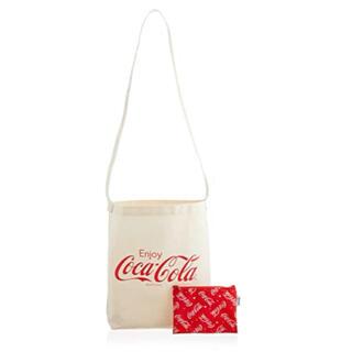 FILA - ポップティーン 付録 コカ・コーラ  斜めがけロゴトートバッグ & 総柄ポーチ