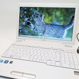 東芝 -  【美品ホワイト】dynabook/大容量/ノートパソコン/すぐに使える