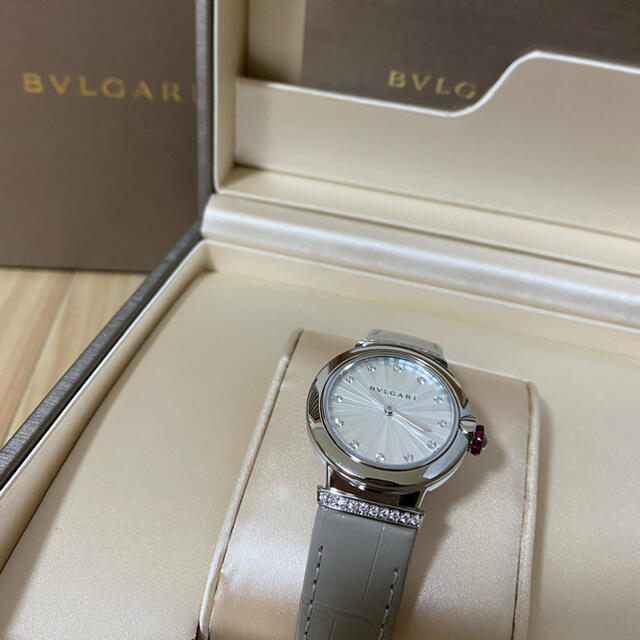 BVLGARI(ブルガリ)の最終値下げ ブルガリ ルチェア 腕時計 レディースのファッション小物(腕時計)の商品写真