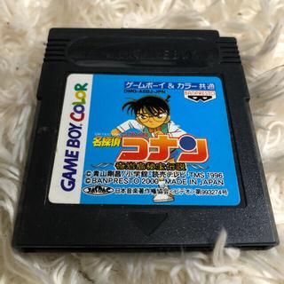 バンプレスト(BANPRESTO)の名探偵コナン ゲームボーイ&カラー カセット(携帯用ゲームソフト)