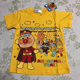アンパンマン(アンパンマン)のアンパンマン  列車 半袖Tシャツ 90(Tシャツ/カットソー)