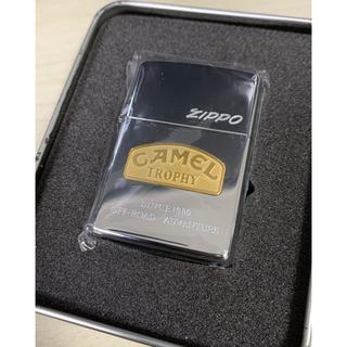 ジッポー(ZIPPO)の新品未使用 CAMEL  TROPHY ジッポー zippo(タバコグッズ)