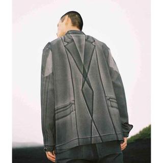 Maison Martin Margiela - 【新品未使用】taakk 20ss flat jacket 転写 トロンプルイユ