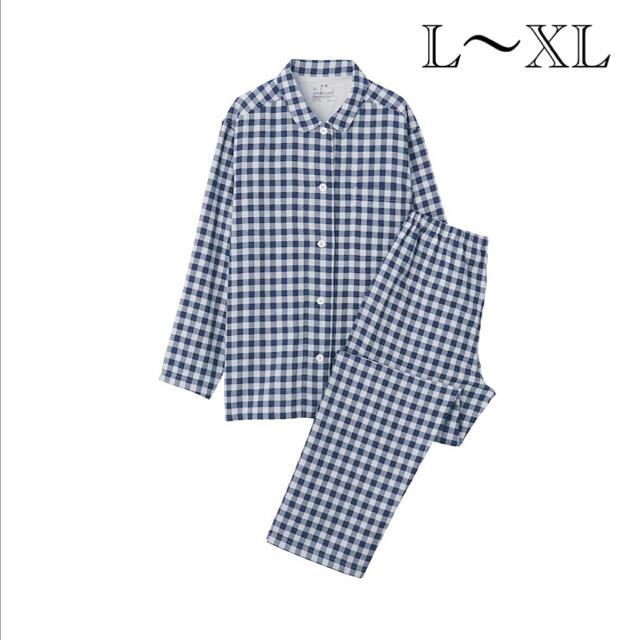 MUJI (無印良品)(ムジルシリョウヒン)の無印良品  脇に縫い目のない二重ガーゼパジャマ  レディースのルームウェア/パジャマ(パジャマ)の商品写真