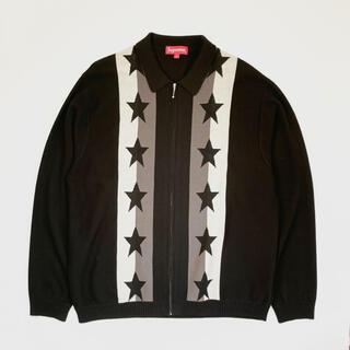Supreme - Supreme Stars Zip Up Sweater Polo Mサイズ