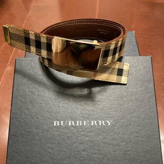 バーバリー(BURBERRY)のバーバリーレディースベルト(ベルト)