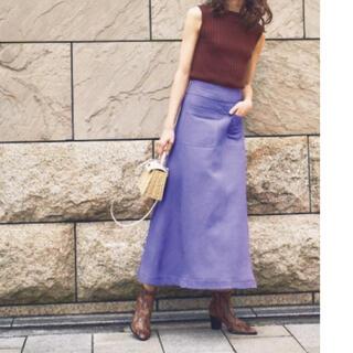 Mila Owen - ミラオーウェン♡リネンスカート