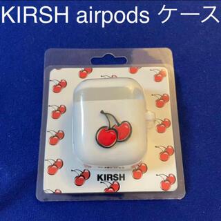超人気 KIRSH airpods case キルシー エアポッズ ケース(ヘッドフォン/イヤフォン)