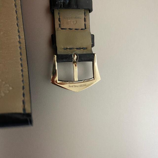 PATEK PHILIPPE(パテックフィリップ)のパテック 変えベルト 尾錠WG メンズの時計(レザーベルト)の商品写真