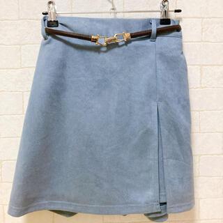シマムラ(しまむら)のしまむら スカート風ショートパンツ ベルトつき(ミニスカート)