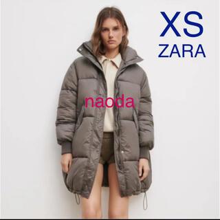 ザラ(ZARA)の【タグ付き新品】ザラ 軽量 撥水 オーバーサイズ コート パフジャケット(ダウンジャケット)