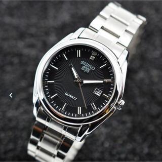 SEIKO - SEIKO5デイトクォーツ腕時計