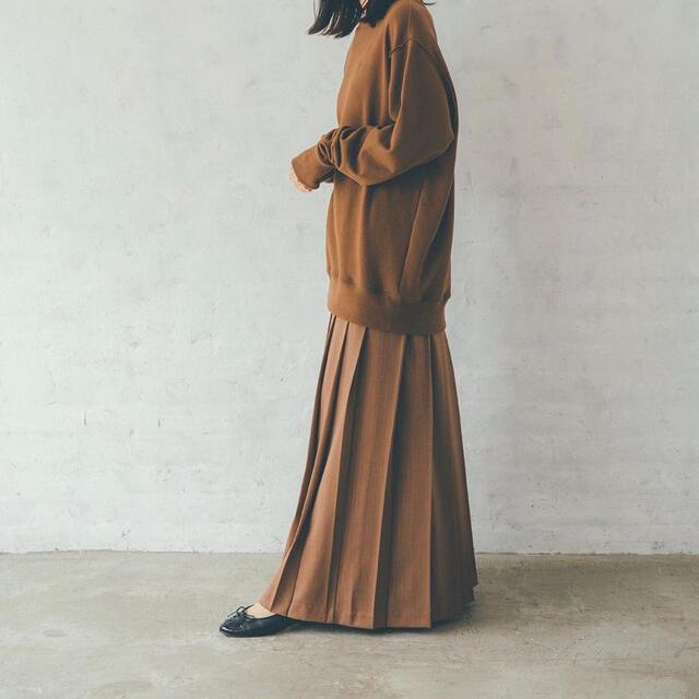 TODAYFUL(トゥデイフル)のhella ボリュームプリーツスカート S レディースのスカート(ロングスカート)の商品写真