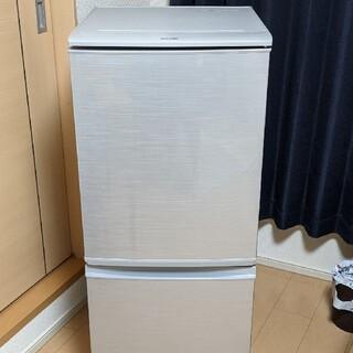 SHARP - SHARP ノンフロン冷凍冷蔵庫 SJ-D14B-S 2016年製