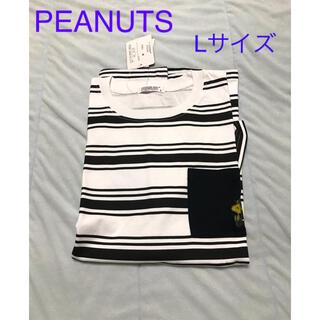 ピーナッツ(PEANUTS)のウッドストック Tシャツ 刺繍入り 未使用(Tシャツ/カットソー(半袖/袖なし))