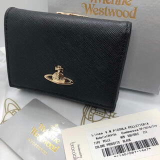Vivienne Westwood - ヴィヴィアン ウエストウッド ミニ 財布 ブラック 新品未使用