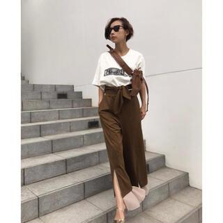 Ameri VINTAGE - 美品⭐︎AMERI VINTAGE⭐︎HEM LAYERED PANT Mサイズ