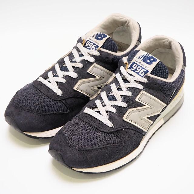 New Balance(ニューバランス)のニューバランス M996NAV made in USA ネイビー 24cm レディースの靴/シューズ(スニーカー)の商品写真