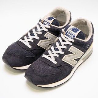New Balance - ニューバランス M996NAV made in USA ネイビー 24cm