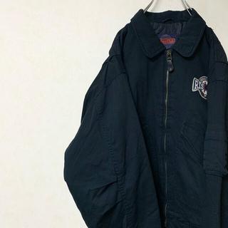 スイングトップ ジャケット 90年代 古着 ブルゾン ワンポイント(ブルゾン)