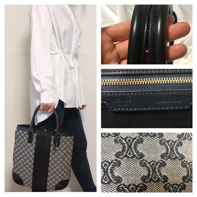 celine(セリーヌ)のセリーヌ ブラゾンマカダム ハンドバッグ レディースのバッグ(ハンドバッグ)の商品写真