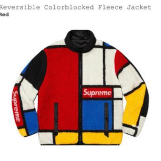 Supreme - Supreme Reversible Fleece 赤 シュプリーム フリース