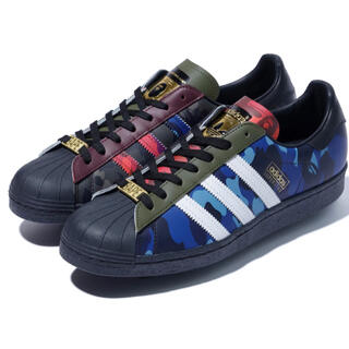 A BATHING APE - BAPE adidas SUPERSTAR  BAPE 29 29.0