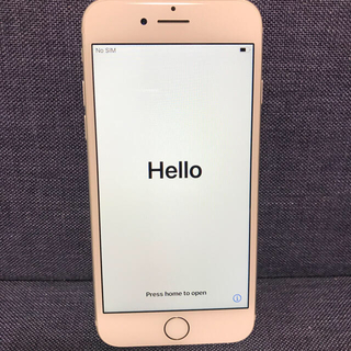 アイフォーン(iPhone)のiPhone 7 Silver 128 GB SIMフリー(スマートフォン本体)