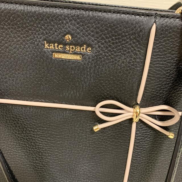 kate spade new york(ケイトスペードニューヨーク)のケイトスペード  チェーン リボン ハンドバッグ ノベルティーおまけ♡ レディースのバッグ(ハンドバッグ)の商品写真