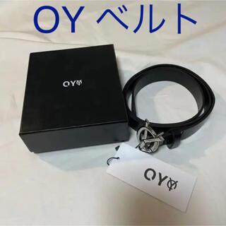 値下げ OY Leather Belt オーワイ ベルト 韓国OY
