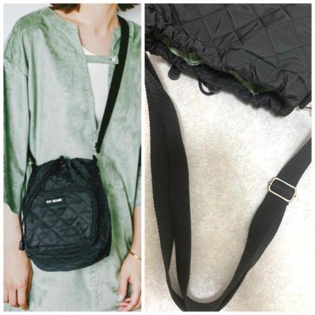 【新品】Ray BEAMS巾着ショルダーバッグ レディースのバッグ(ショルダーバッグ)の商品写真