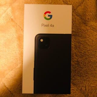 Google Pixel - 【美品】Google Pixel4a 128GB+Google公式スマホケース