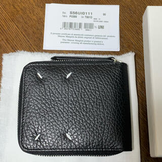 Maison Martin Margiela - 新品 メゾンマルジェラ Martin Margiela 二つ折り財布 ブラック