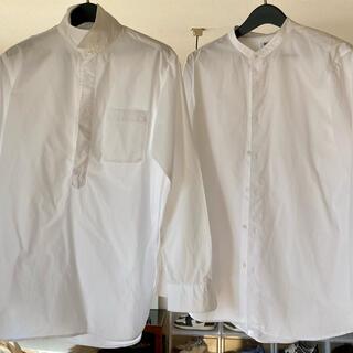UNIQLO - ユニクロ 白シャツ2枚セット Lサイズ