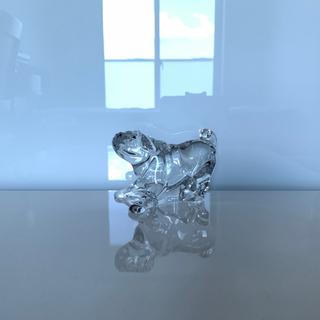 バカラ(Baccarat)の✯ 極レア ラブリー Baccarat パグ 犬 クリスタル 置物 ペット✯(置物)