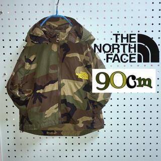 THE NORTH FACE - ノースフェイス  美品  カモフラ  撥水加工アウトドアジャケット  90cm