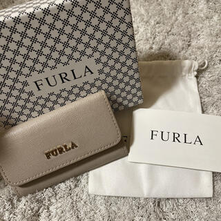 Furla - FURLA キーケース ベージュ